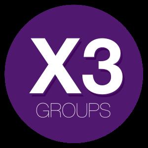 X3groups